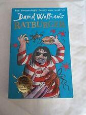 Ratburger, Walliams, David, Very Good, Paperback