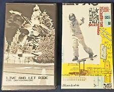 2 Vintage Women's Skateboarding Vhs (Live and Let Ride/All Girl Skate Jam 2000)