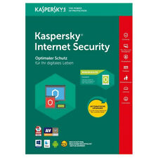 Kaspersky Internet Security 2018 3 PC (Geräte) 1 Jahr | Download-Version