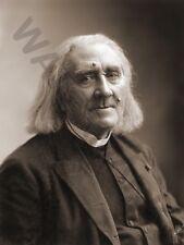 Nadar compositeur Franz Liszt Wall Poster Art Print LF3191
