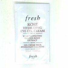 Fresh ROSE Hydrating Eye Gel Cream SAMPLE, 0.06oz/1.5ml, Lots of 10
