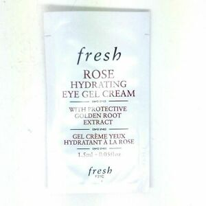 Fresh ROSE Hydrating Eye Gel Cream SAMPLE, 0.06oz/1.5ml, Lots of 10