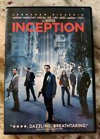 Christopher Nolan's INCEPTION * DVD - Very Good - Leonardo DiCaprio