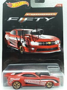 Hot Wheels  '10 Pro Stock Camaro Signed By Vincent Nobile Nhra