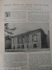 Trinity House Lighthouse Almshouse Browne Webb Irene Rare Victorian Article 1895