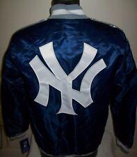 NEW YORK YANKEES MLB STARTER Snap Down Jacket Fall 2019 BLUE/GRAY