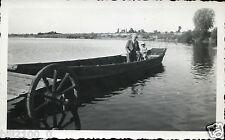 Vitry-en-Artois . promenade au Port . bateau . 1937