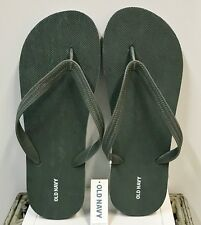 NWT Men's FLIP FLOPS Old Navy Sandals SIZE 10-11 GREEN HEATHER Shoes pool beach