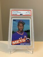 1985 Topps #620 Dwight Gooden Rookie Card PSA 8 New York Mets