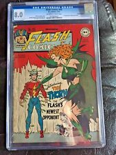 FLASH COMICS #89 CGC VF 8.0; OW-W; Double cover! rare, 1st app. Thorn!