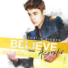 Justin Bieber - Believe acustic - CD +1 bonus track+ 1 poster (nuovo/sigillato)