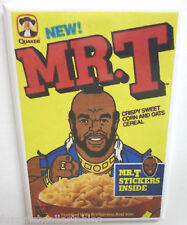 "Mr. T Vintage Cereal Box 2"" x 3"" Refrigerator or Locker MAGNET A Team"