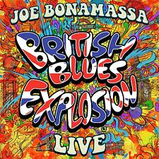 Joe Bonamassa BRITISH BLUES EXPLOSION LIVE 180g +MP3s NEW COLORED VINYL 3 LP