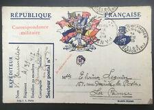 🇧🇪 1915 - Correspondance des Armées de la republique 12/12