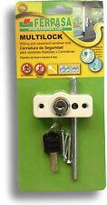 Cerradura de seguridad para ventanas Multilock