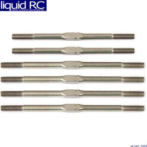 Associated 71107 RC10T6.1 FT Titanium Turnbuckle Set silver