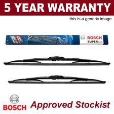 """Bosch Super Plus Front Wiper Blades Set 600/530mm 24/21"""" 3397001543 543"""