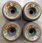 "ORIGINAL SANTA CRUZ OJ II ""SPEED WHEELS"" VINTAGE 1980'S NOS - Black"