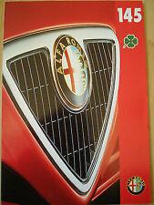 Alfa Romeo 145 Cloverleaf brochure Feb 1996