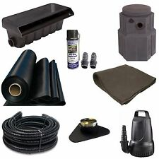 10x30 Med Pondless Waterfall Kit Pondbuilder 20 Waterfall 4000GPH Pump TGPMDP2