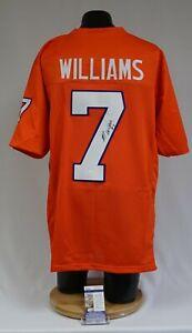Mike Williams Signed Clemson Tigers Orange XL Football Jersey JSA SD24017
