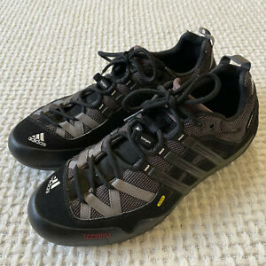 ADIDAS Terrex Solo Hiking Trail Shoes Mens Size 11 Black Outdoor