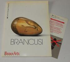BRANCUSI Centre Georges POMPIDOU 1995 - BEAUX ARTS Magazine Hors Série