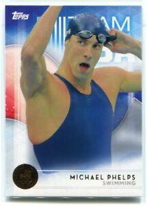 2016 Topps U. S. Olympic Team Bronze 1 Michael Phelps