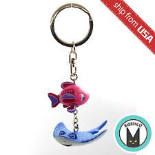 Japan Tokyo Disney Sea Nemo & Friends SeaRider Mr. Ray Keychain Charm Rare Cute