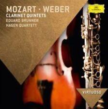 MOZART - WEBER Clarinet Quintets (CD, 2014, Deutsche Grammophon) brand new CD