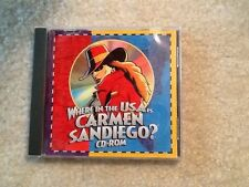 Teachers learning resources where in Usa is Carmen Sandiego Cd-Rom
