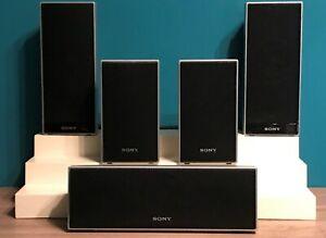 Sony Surround Sound Speaker System Set 5: 1 SS-CT71; 2pc. SS-TS72; 2pc. SS-TS71