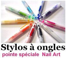 LOT 2 Stylos Nail Art - Pointe fine Pour Dessiner Sur Les Ongles - couleur CHOIX