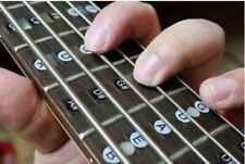 Inlay Aufkleber für Gitarre um die Noten auf dem Griffbrett zu lernen + spielen