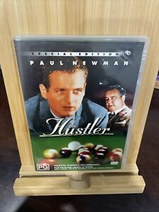THE HUSTLER - DVD Region 4 - Paul Newman Rare