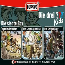 3 CDs * DIE DREI ??? (FRAGEZEICHEN) KIDS - BOX 7 - FOLGEN 19 - 21 # NEU OVP =