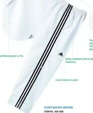 Brand New Adidas Super Master Taekwondo Uniform Size 6 Pants Only