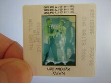More details for original press photo slide - spice girls - victoria beckham & will smith - 2000