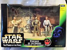 Phil Brown STAR WARS AUTOGRAPHED Signed Hasbro Purchase of the Droids COA