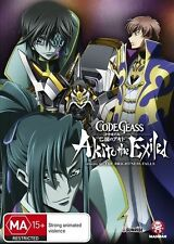 Code Geass: Akito the Exiled Ep 3: The Brightness Falls NEW R4 DVD