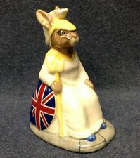 "New ListingRoyal Doulton Bunnykins Britannia Db219 No. 608 of 2500 Limited Edition 4.25"" Uk"