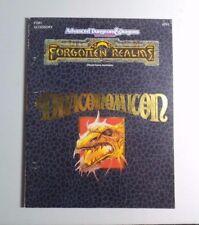 Advanced Dungeons & Dragons Forgotten Realms DRACONOMICON - RARE - TSR 9297