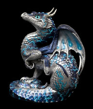"""Windstone Editions """"Blue Lightning"""" Scratching Dragon Test Paint #1"""