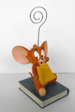 Rare Tom And Jerry * Jerry * Resin fig Memo Clip Mint box 2002 France Retired