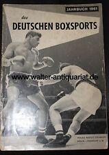 Jahrbuch 1961 des Deutschen Boxsports Boxen Amateurboxen Profiboxen