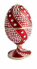 Copie oeuf de Fabergé rouge