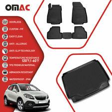 For Buick Encore 2013-2020 Floor Mats Cargo Trunk Liner 3D Molded Black Full Set