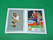 N°4 MASCOTTE 131 SALGADO PANINI FOOTBALL GERMANY 2006 MINI-STICKERS