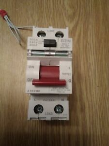Eaton MEM A100HE 100A 100 Amp 30mA RCCB RCD 2 Double Pole  Circuit Breaker
