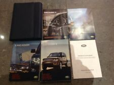 LAND ROVER DISCOVERY 4 HANDBOOK OWNERS MANUAL NAVI WALLET 2009–2011